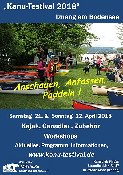 Kanu-Testival 2018 am Bodensee