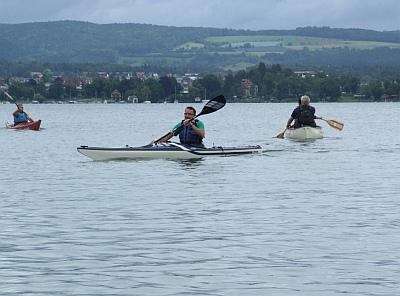 Schnupperkurs mit Canadier und Kajak am Bodensee