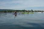 Ein ideales Revier für Seekajakkurse - der Bodensee