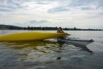 Gibt Sicherheit auf dem Wasser - T-Rescue im Seekajak